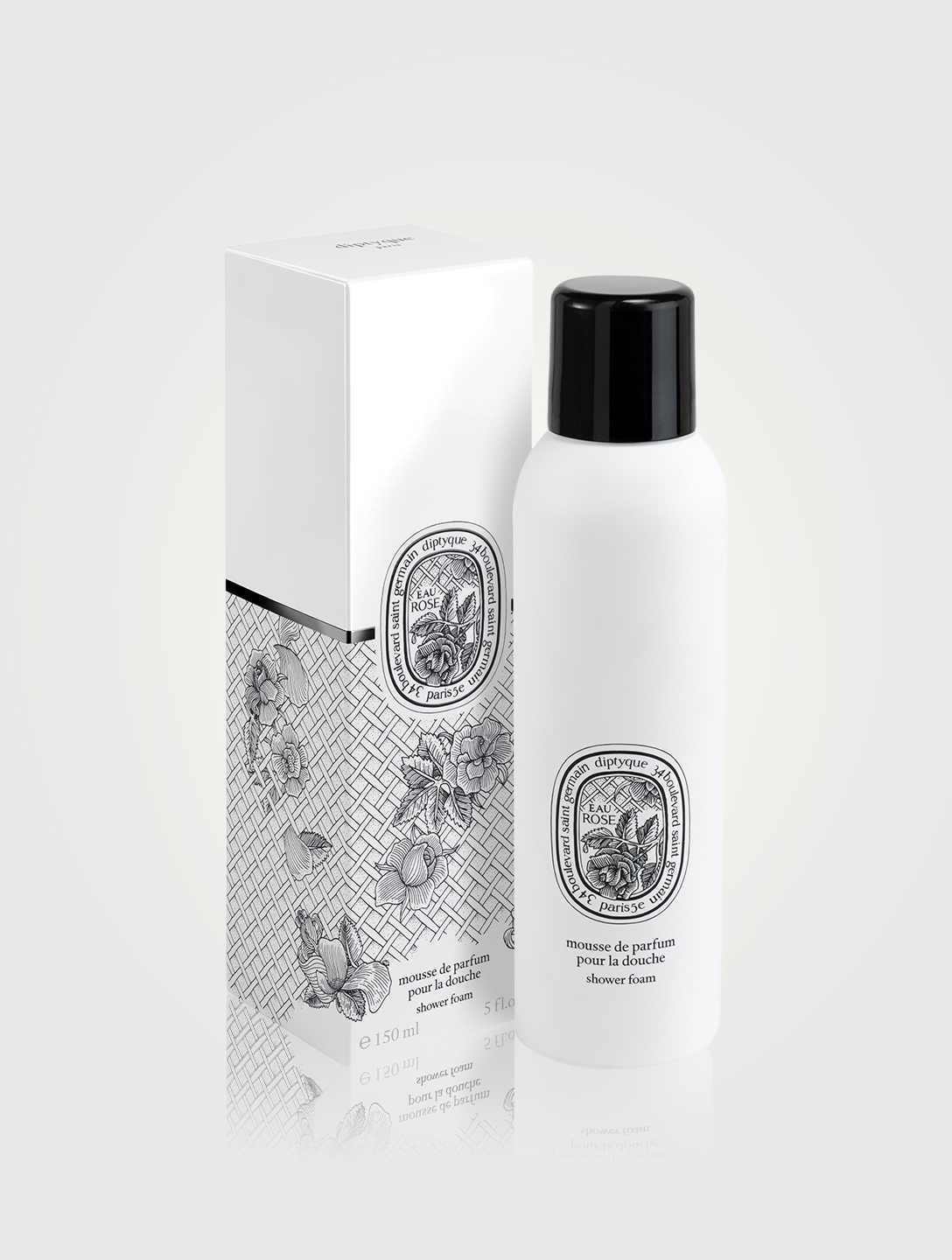 DIPTYQUE Eau Rose Shower Foam Beauty