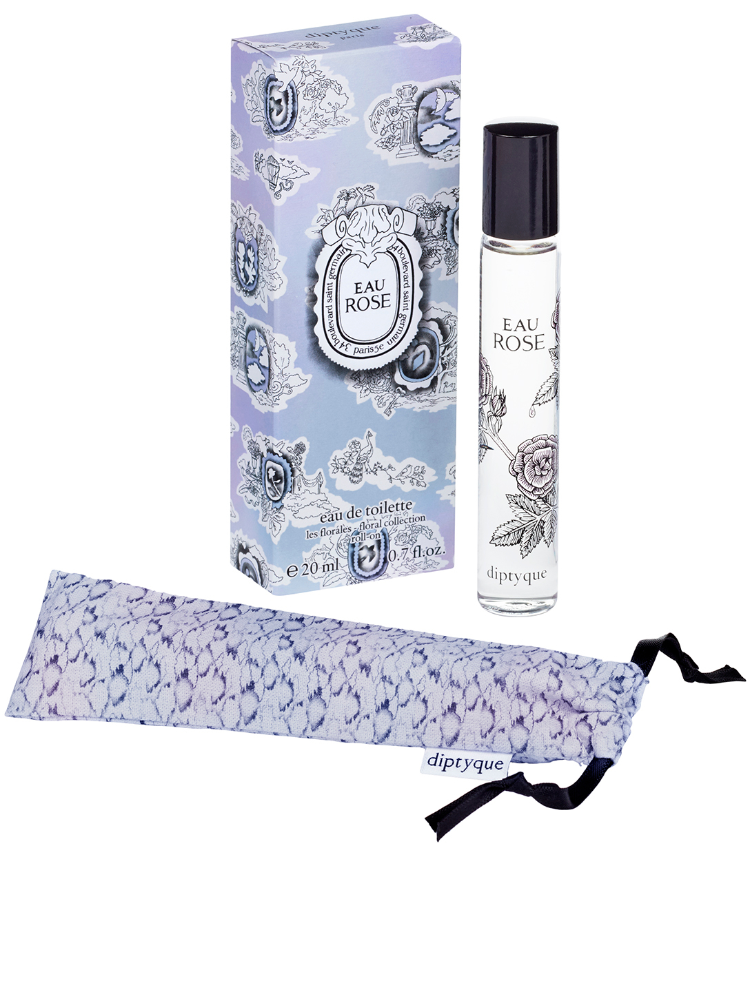 DIPTYQUE Limited Edition Eau Rose Roll-on Beauty