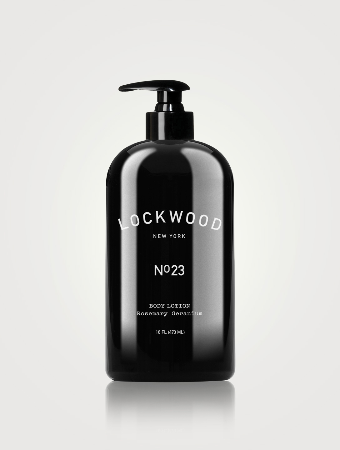 LOCKWOOD NEW YORK No.23 Rosemary Geranium Body Lotion Beauty