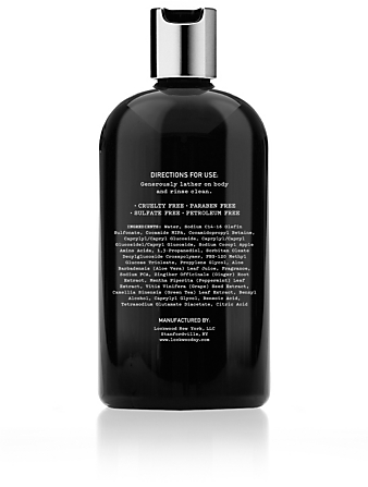 LOCKWOOD NEW YORK No.22 Rosemary Geranium Body Wash Beauty