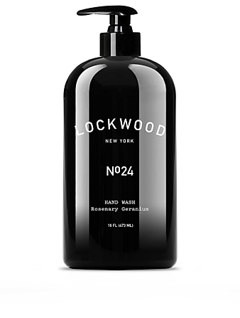 LOCKWOOD NEW YORK No.24 Rosemary Geranium Hand Wash Beauty