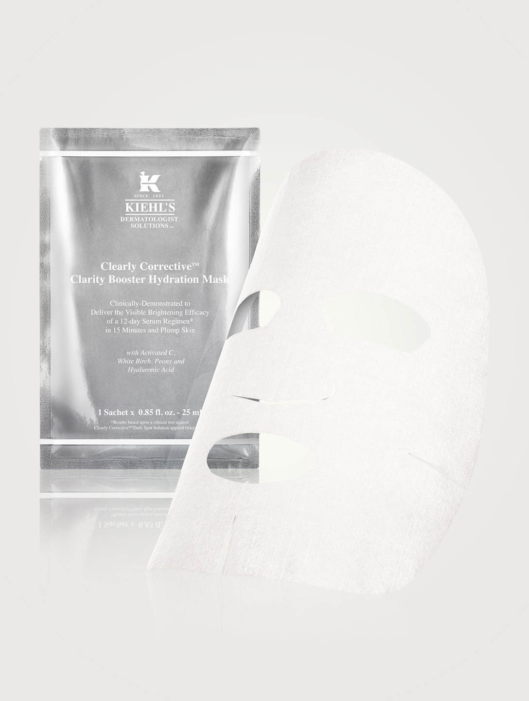 KIEHL'S Clearly Corrective™ Clarity Booster Hydration Mask x1 Beauty