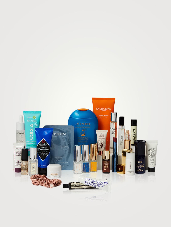 HOLT RENFREW Limited-Edition Summer Beauty Bag Beauty Metallic