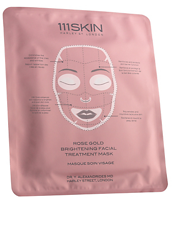 111SKIN Rose Gold Brightening Facial Treatment Mask Beauty