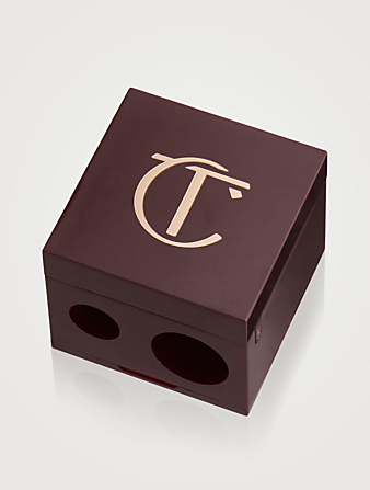 CHARLOTTE TILBURY Double Cube Pencil Sharpener Beauty