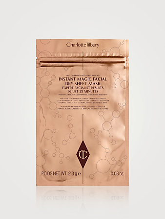 CHARLOTTE TILBURY Instant Magic Facial Dry Sheet Mask – Single Beauty