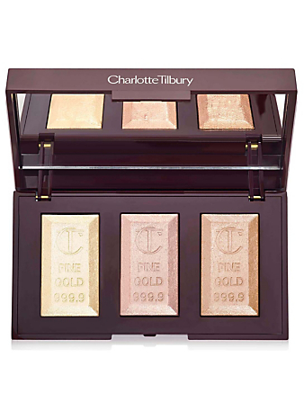 CHARLOTTE TILBURY Bar of Gold Trio Holiday Highlighter Palette Beauty
