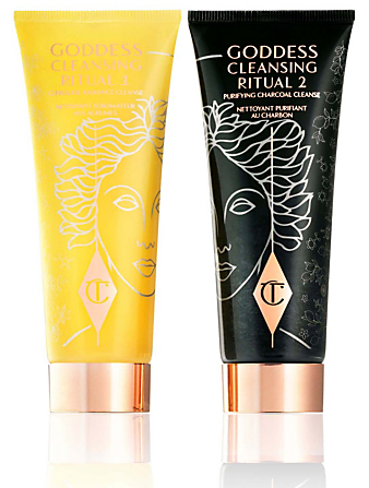 CHARLOTTE TILBURY Goddess Dual Cleanser - Miracle Spa-In-A-Jar Duo Beauty