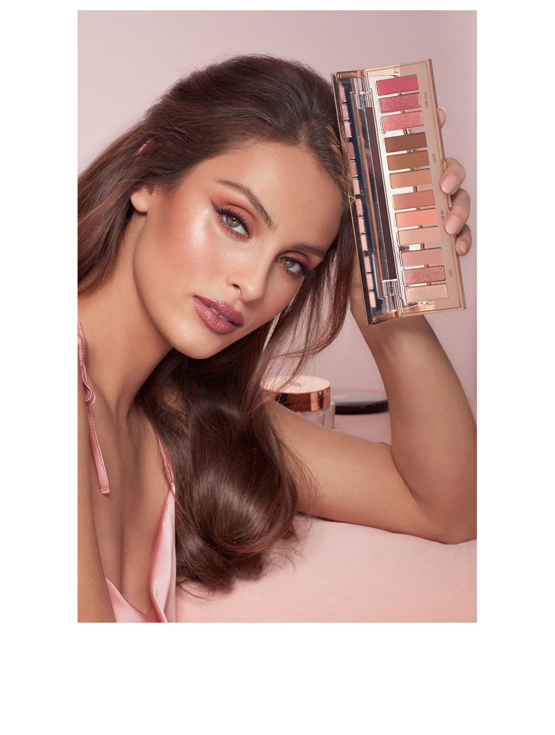 CHARLOTTE TILBURY Palette looks instantanés Pillow Talk Beauté Rose