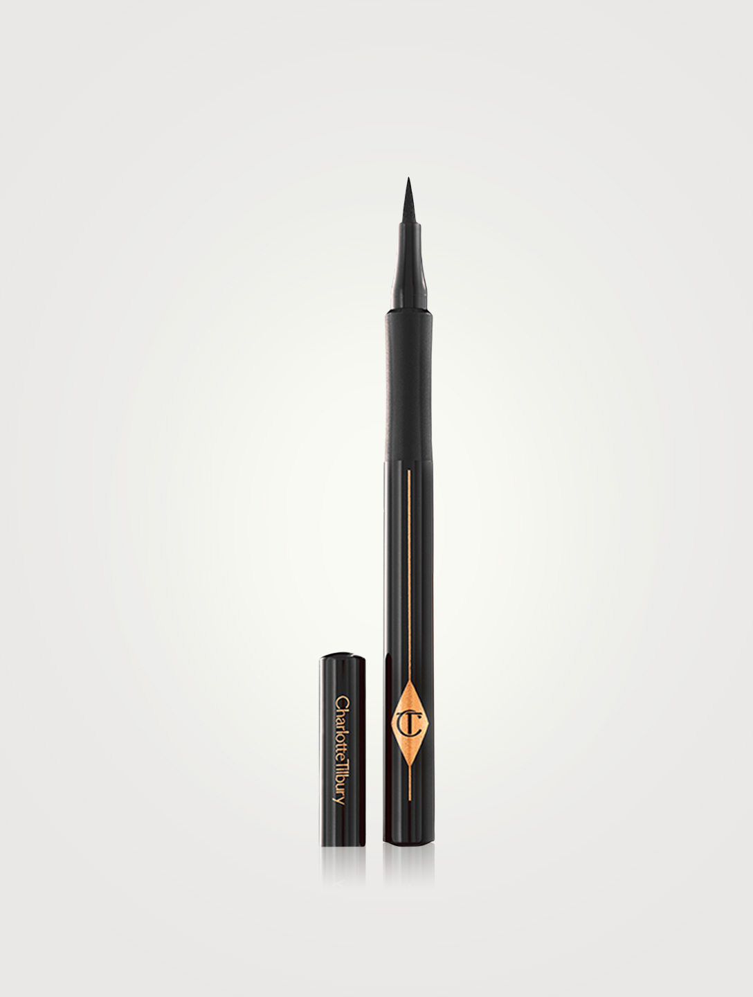 CHARLOTTE TILBURY The Feline Flick Eyeliner Pen Beauty Black