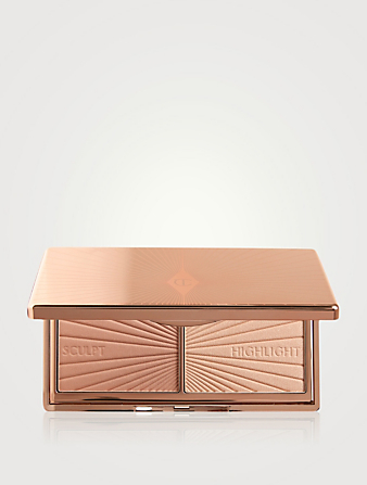 CHARLOTTE TILBURY Mini Filmstar Bronze And Glow Set Beauty Neutral