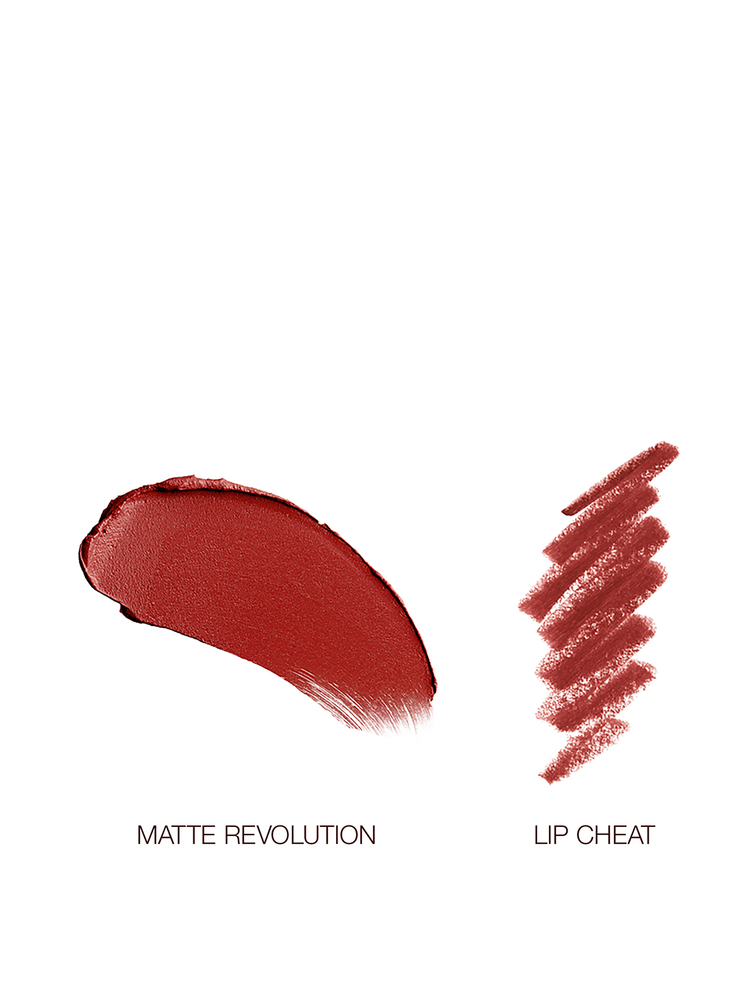 CHARLOTTE TILBURY Walk Of No Shame Lip Duo Set Beauty Red