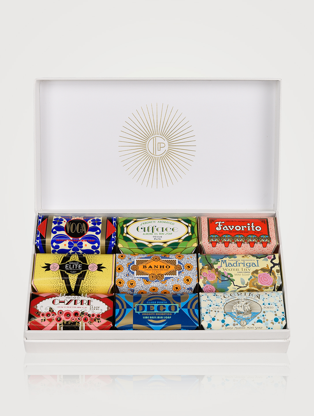 CLAUS PORTO Deco Nine Mini Soaps Gift Box Beauty