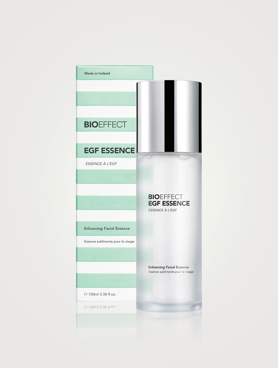 BIOEFFECT Essence sublimante pour le visage à l'EGF Beauté