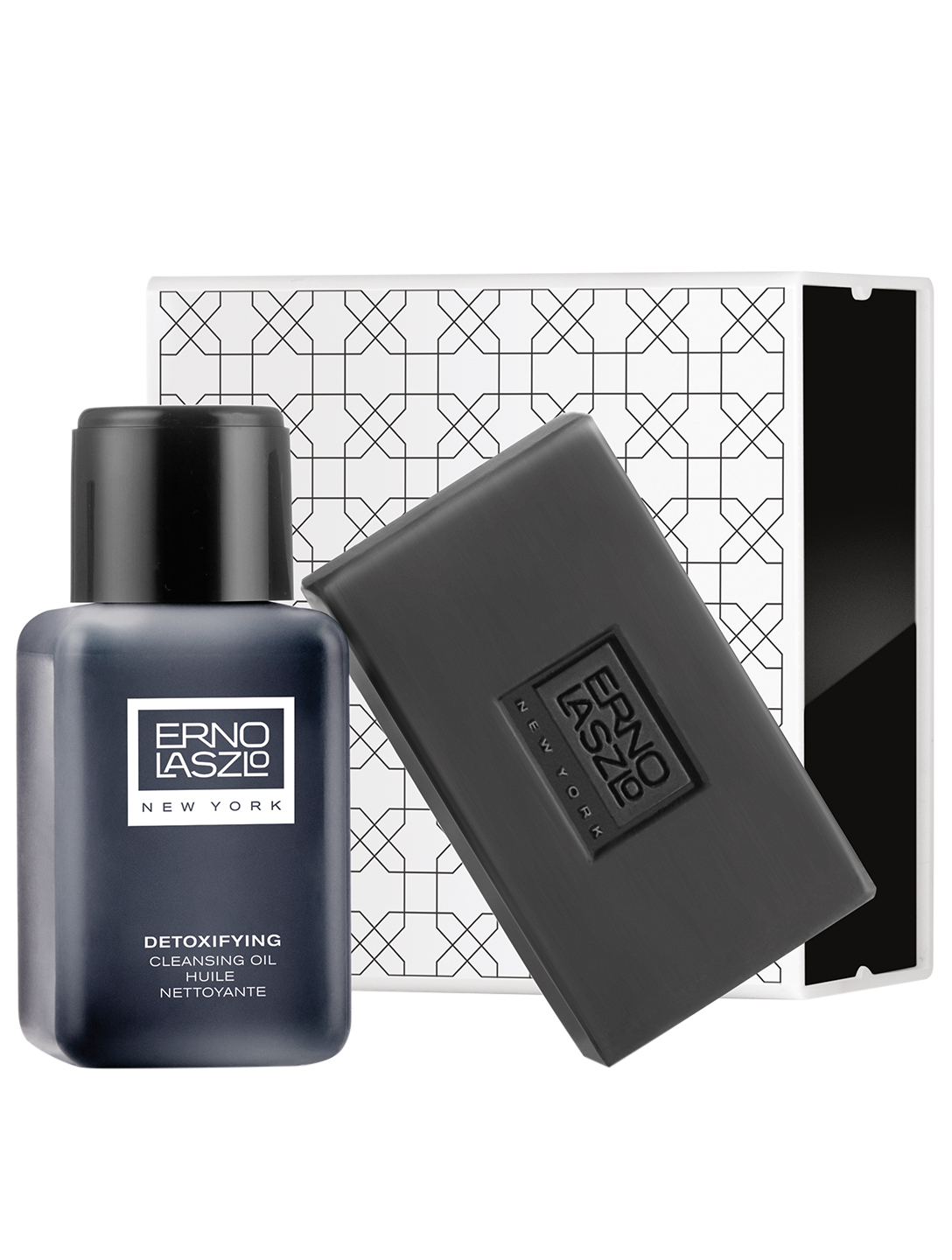 ERNO LASZLO Detoxifying Double Cleanse Travel Set Beauty