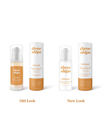 THREE SHIPS Refresh Papaya + Salicylic Acid Cleanser Beauty