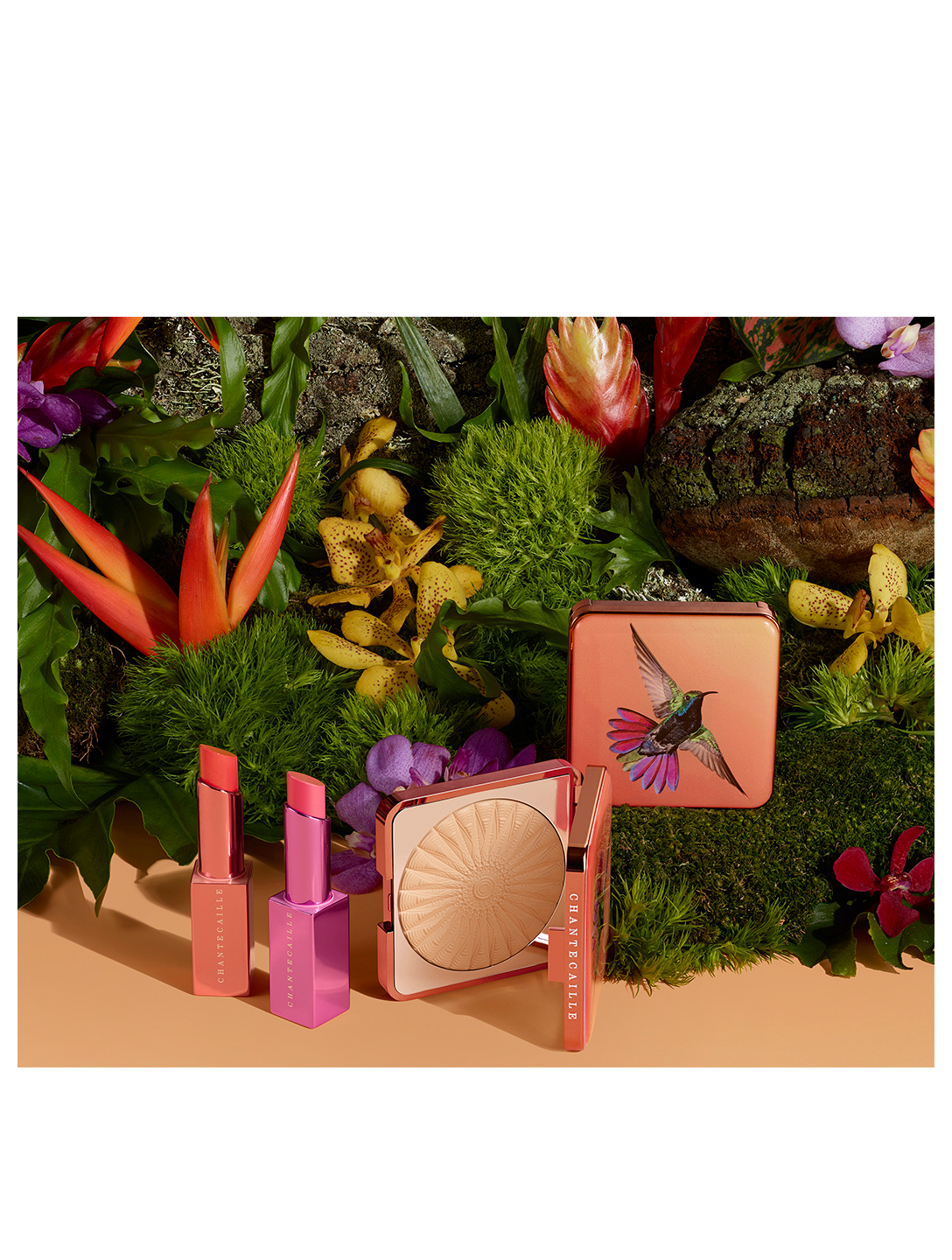 CHANTECAILLE Lip Chic - Hummingbird Limited Edition Beauty Orange