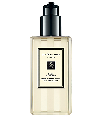 JO MALONE LONDON Gel moussant Basil & Neroli Beauté