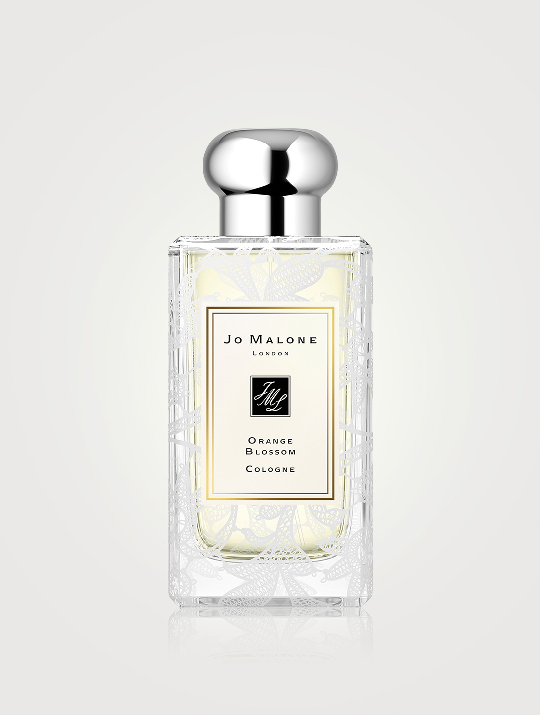 JO MALONE LONDON Orange Blossom Cologne with Daisy Leaf Lace Design Beauty