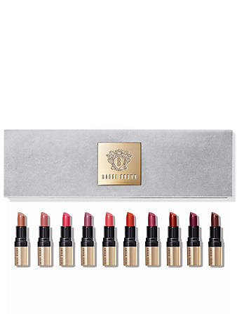 BOBBI BROWN Collection Luxe on Luxe de minirouges à lèvres Luxe Beauté