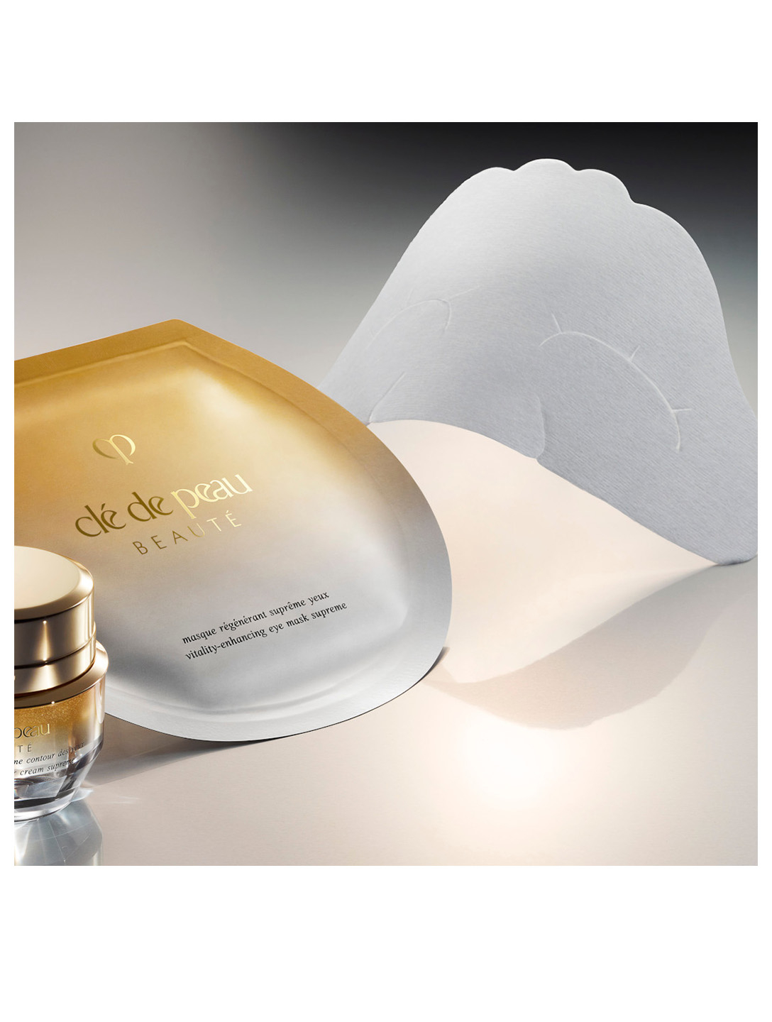 CLÉ DE PEAU BEAUTÉ Vitality-Enhancing Eye Mask Supreme Beauty
