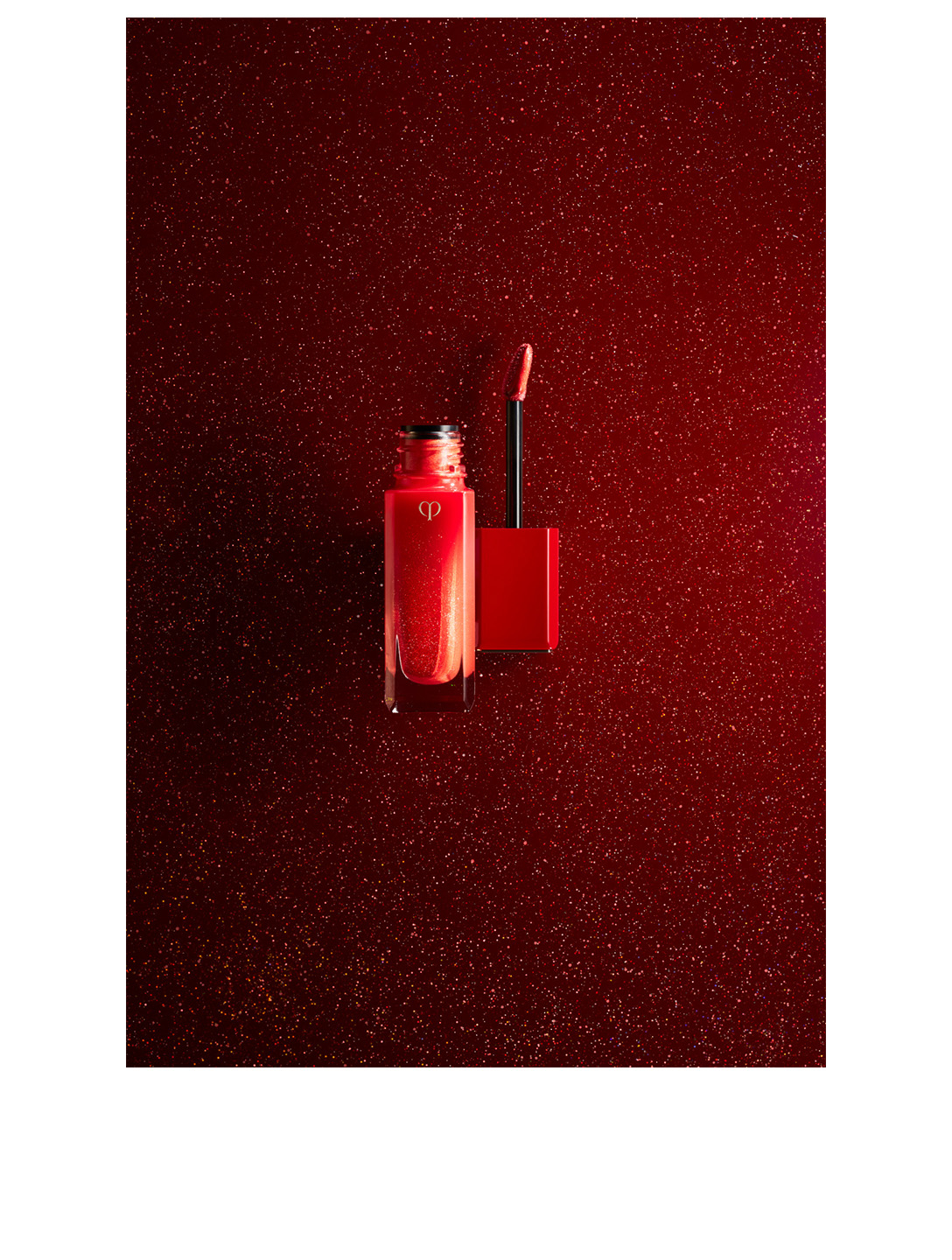 CLÉ DE PEAU BEAUTÉ Radiant Liquid Lipstick Rouge Sparkles Beauty Red