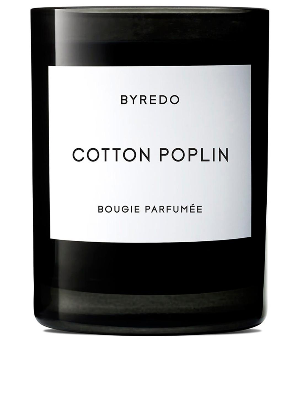 BYREDO Bougie parfumée Cotton Poplin Beauté
