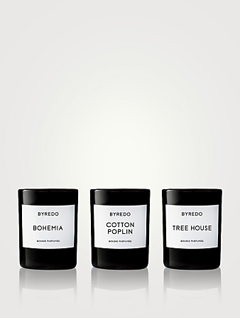 BYREDO La Sélection Bois Mini Candle Set Beauty