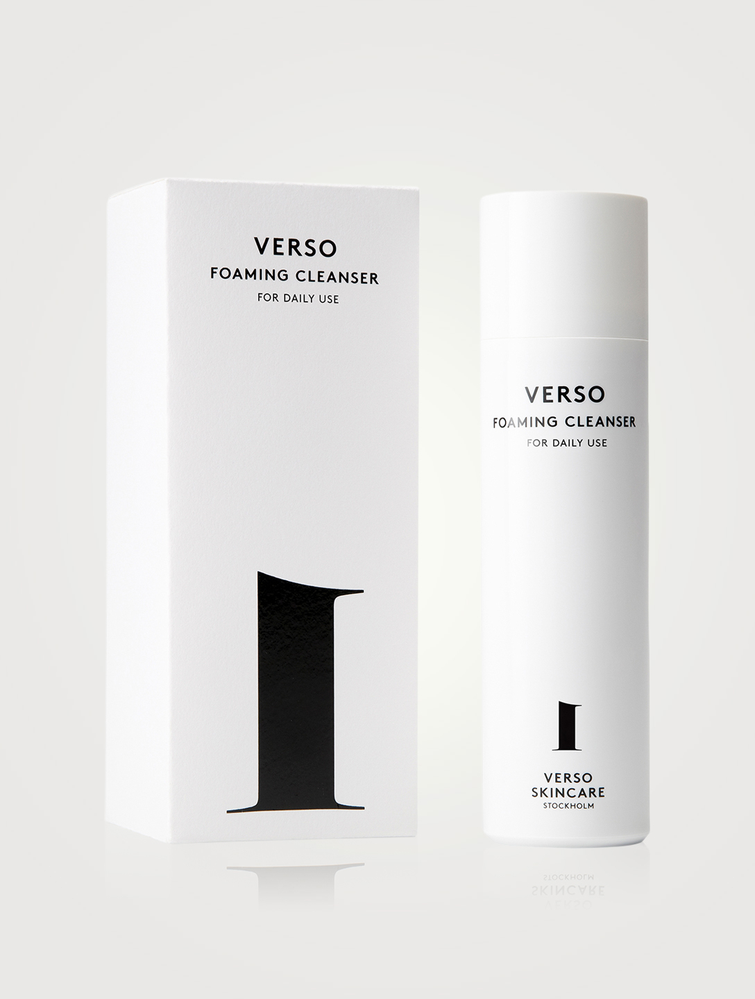 VERSO Foaming Cleanser Beauty
