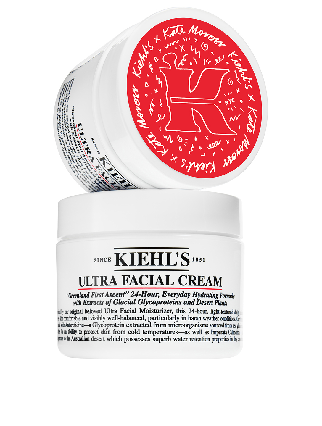 KIEHL'S Limited Edition Kate Moross Ultra Facial Cream Beauty