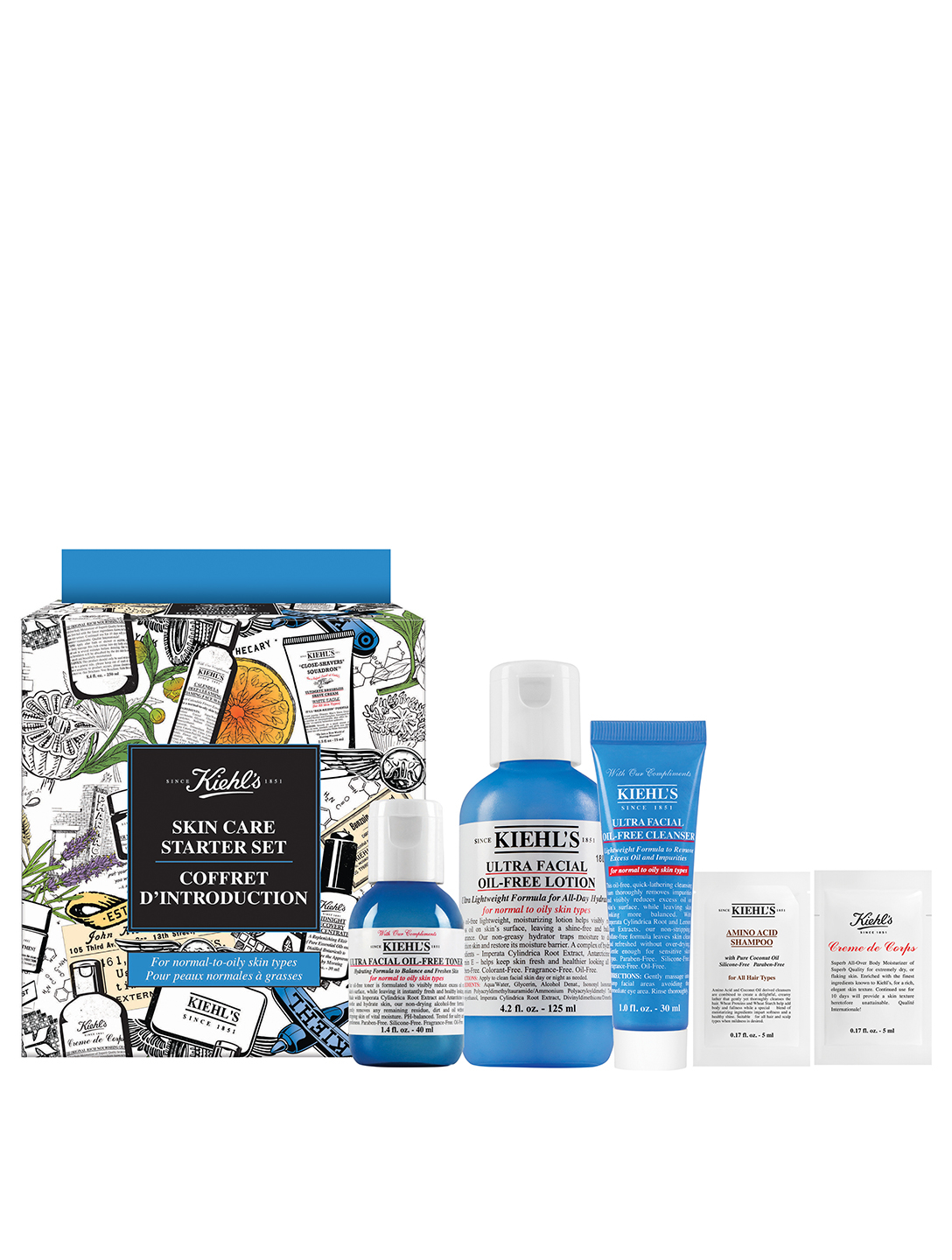 KIEHL'S Skin Care Starter Set - Oil-Free Beauty