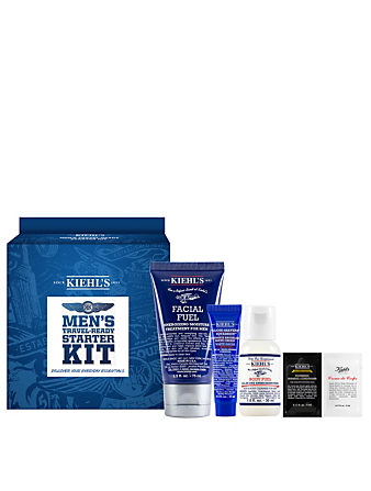 KIEHL'S Men's Travel-Ready Starter Kit Beauty