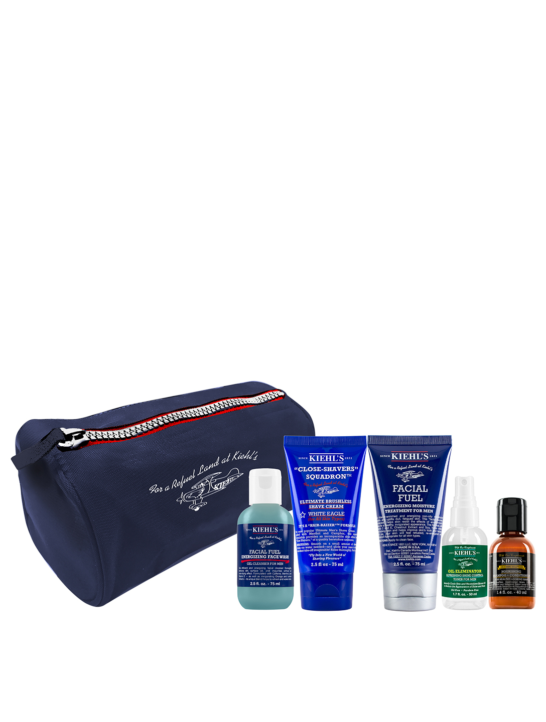 KIEHL'S Men's Travel Set Beauty