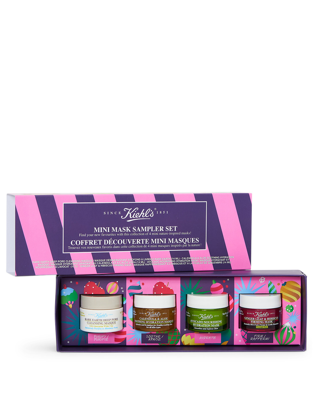 KIEHL'S Mini Mask Sampler Set - Holiday Edition Beauty No Color