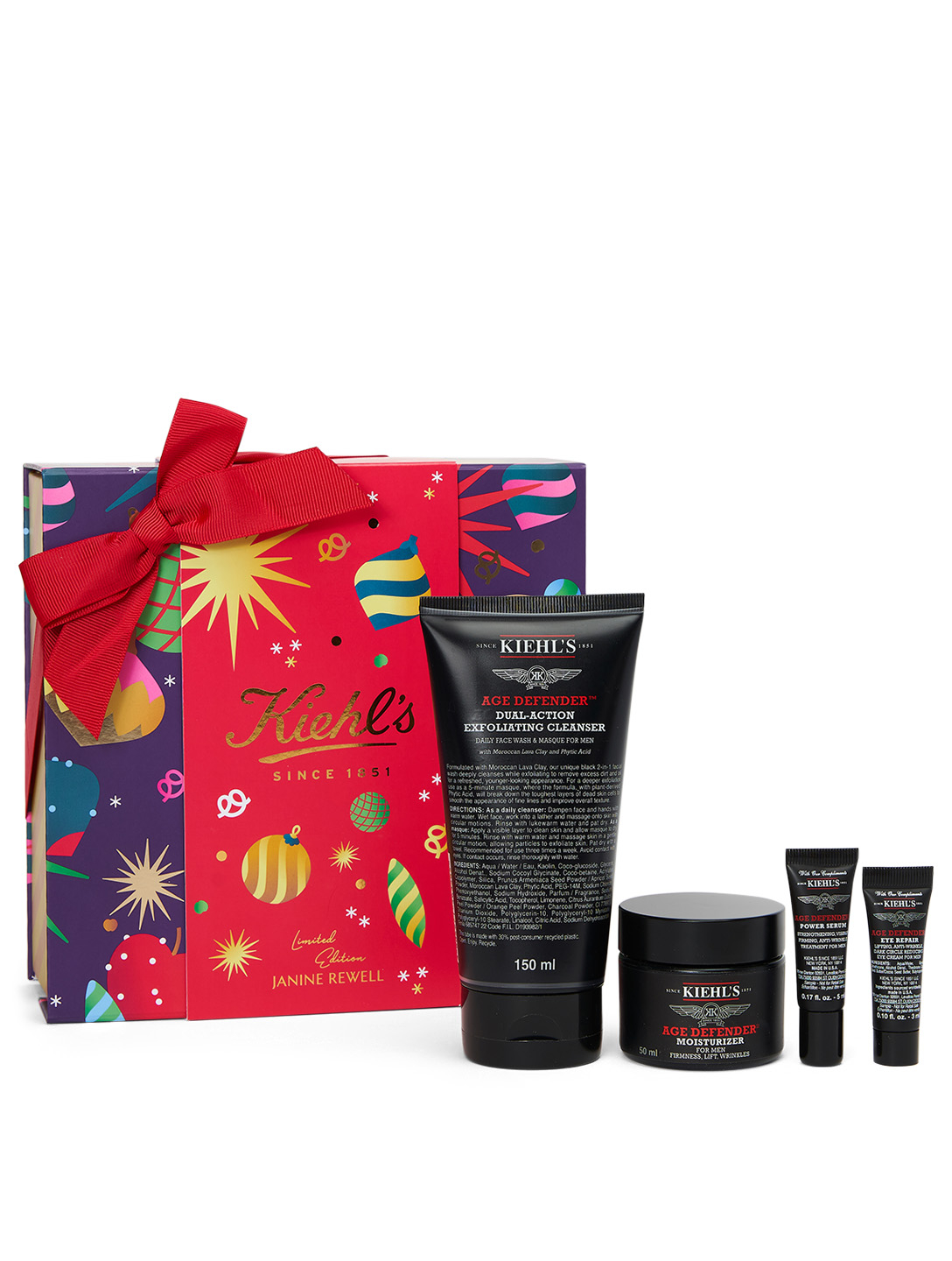 KIEHL'S Men's Heavy Lifter Set - Holiday Edition Beauty