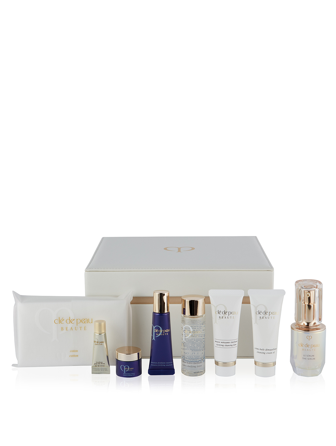 CLÉ DE PEAU BEAUTÉ Le Serum & Key Radiance Set Beauty