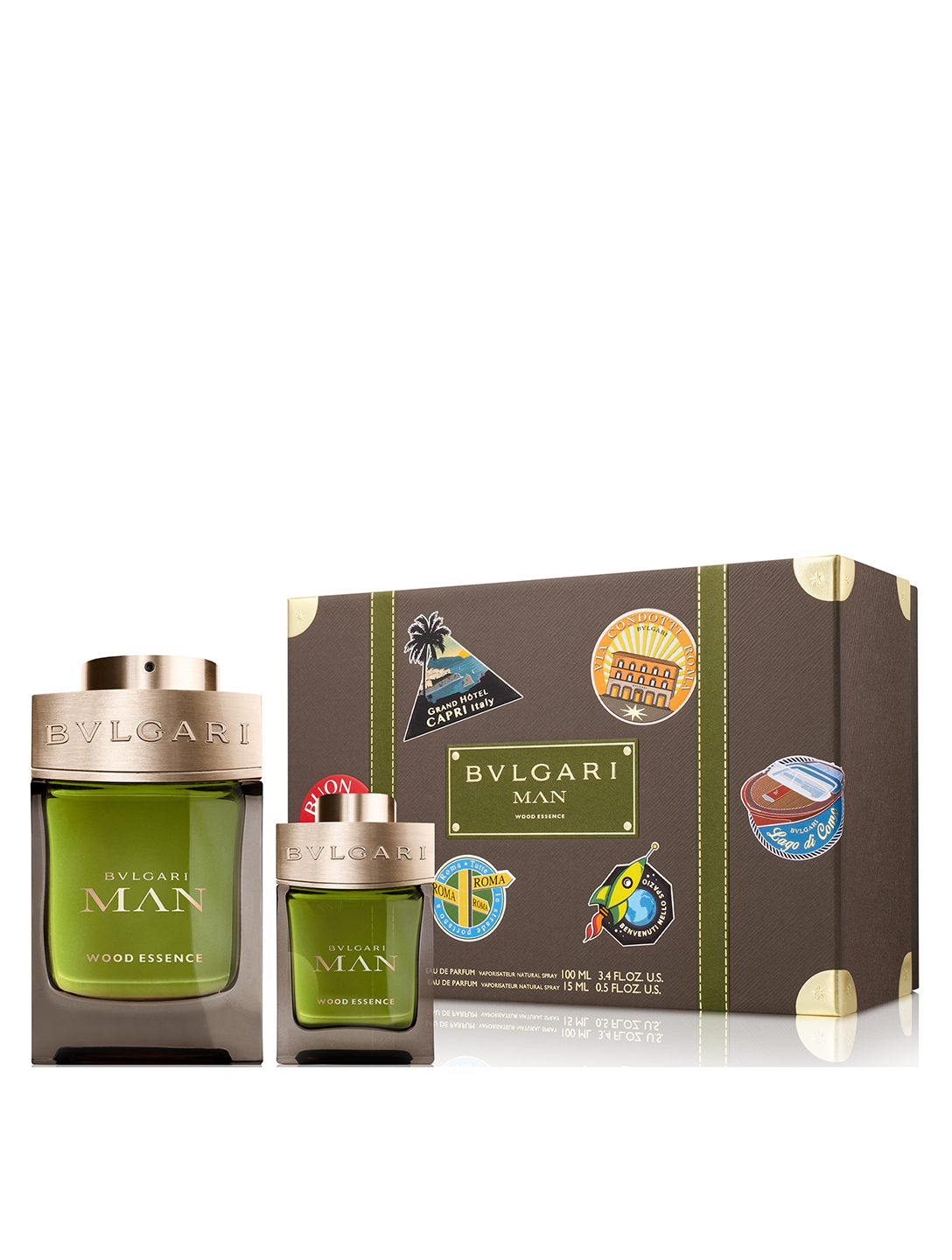BVLGARI Duo-cadeau Bvlgari Man Wood Essence Beauté
