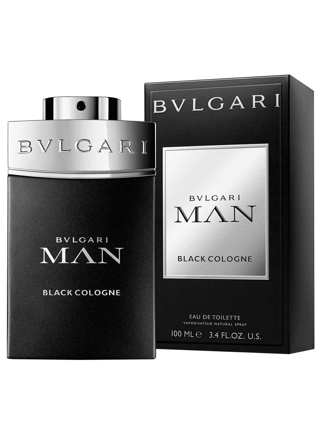 BVLGARI Man Black Cologne Eau de Toilette Beauty