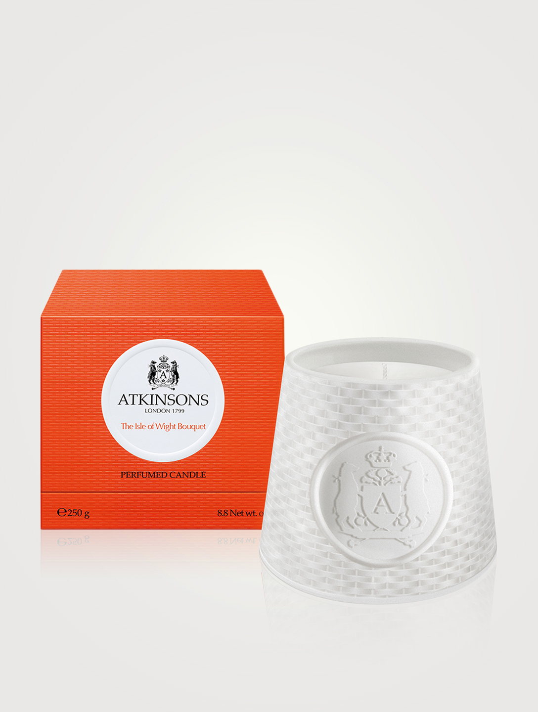 ATKINSONS Isle W. Bouquet Candle Beauty