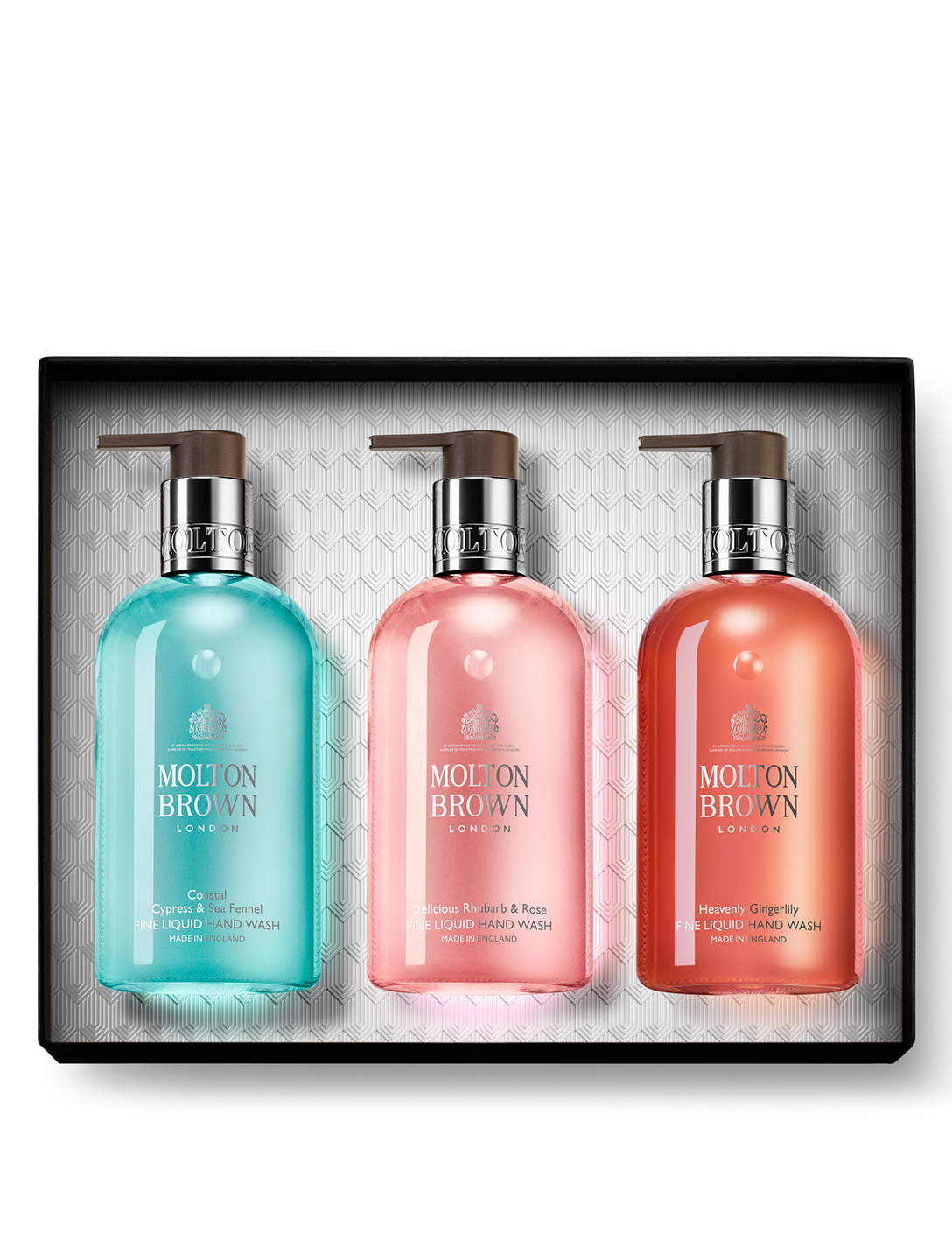 MOLTON BROWN Floral & Aromatic Hand Wash Trio Gift Set Beauty