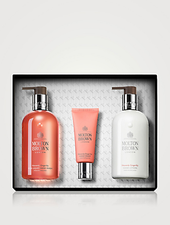 MOLTON BROWN Heavenly Gingerlily Hand Care Trio Gift Set Beauty