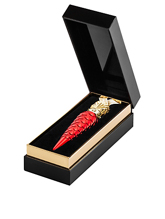 CHRISTIAN LOUBOUTIN Rouge Louboutin Metalissime Loubilaque Lip Lacquer Beauty Red