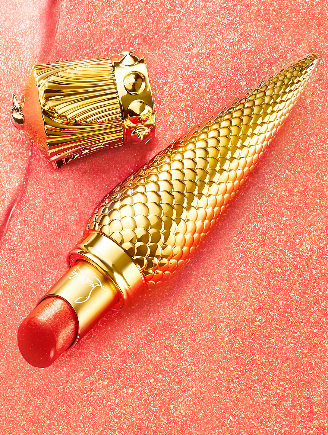 CHRISTIAN LOUBOUTIN Sheer Voile Lip Colour - Limited Edition Beauty Orange