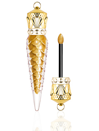 CHRISTIAN LOUBOUTIN Loubilaque Lip Lacquer - Goldomania Limited Edition Beauty Gold