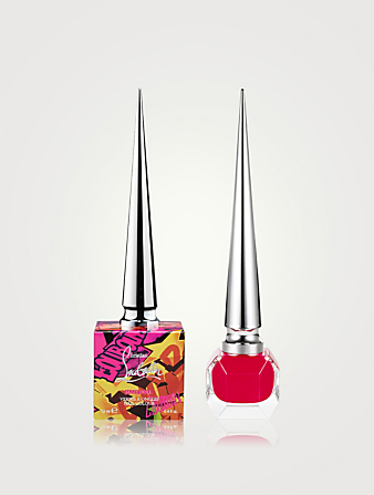 CHRISTIAN LOUBOUTIN LoubiGraffiti Nail Color Beauty Red