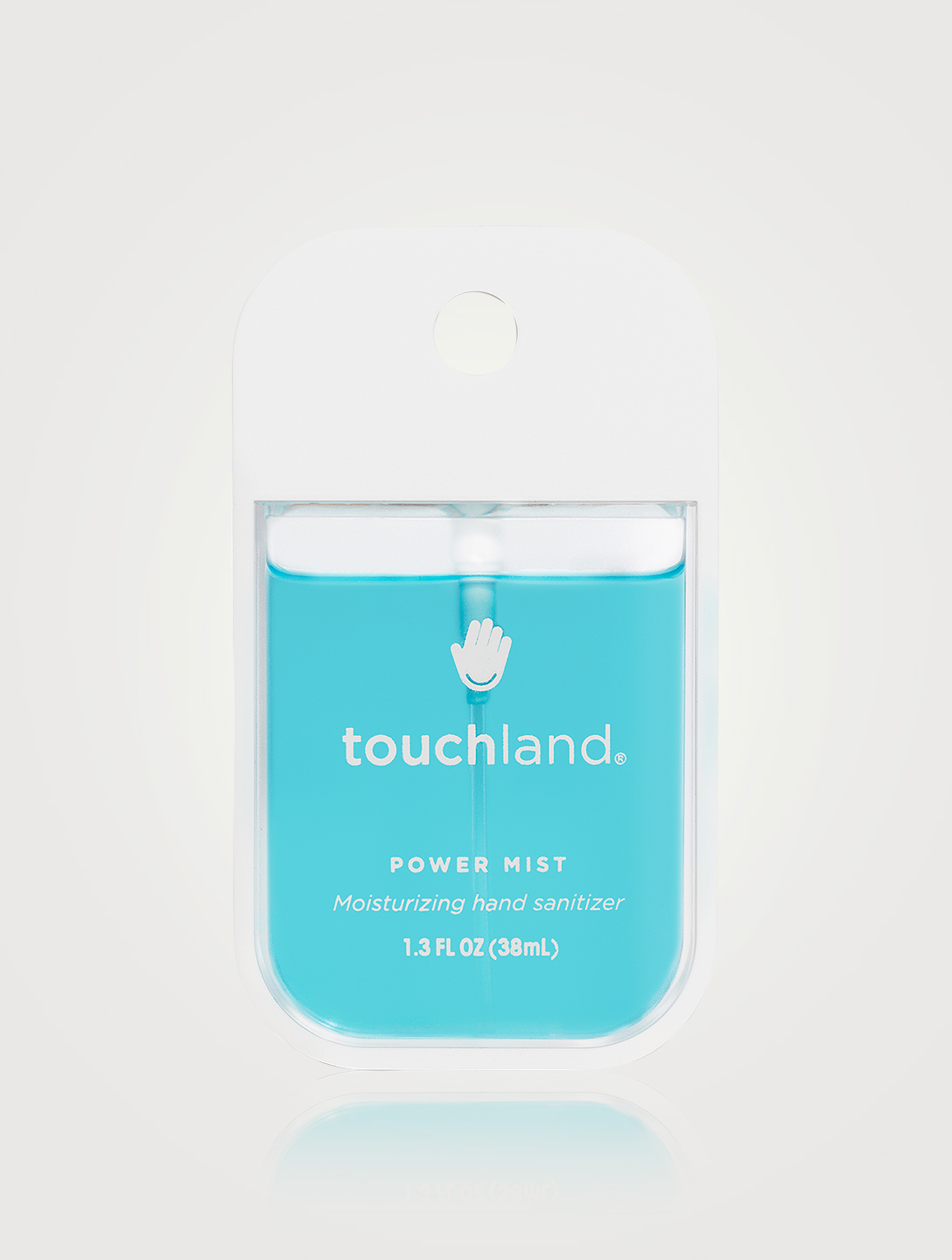 TOUCHLAND Power Mist Mint Moisturizing Hand Sanitizer Beauty Blue