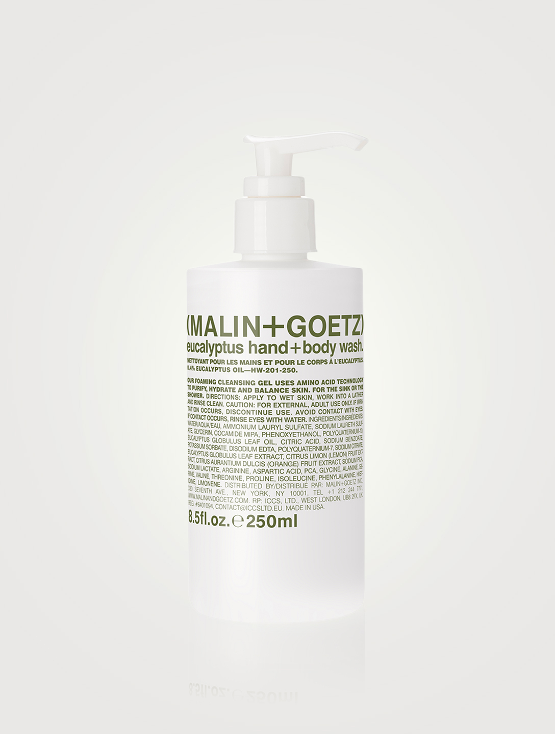 MALIN + GOETZ eucalyptus hand + body wash Beauty