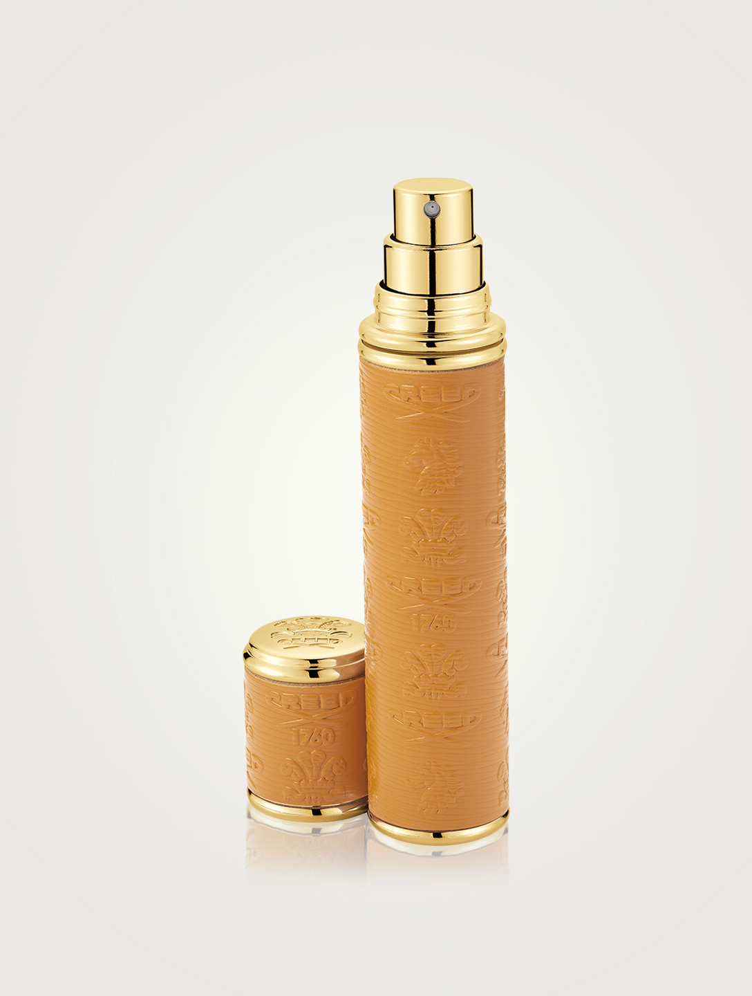 CREED Mini Leather Atomizer Beauty Brown