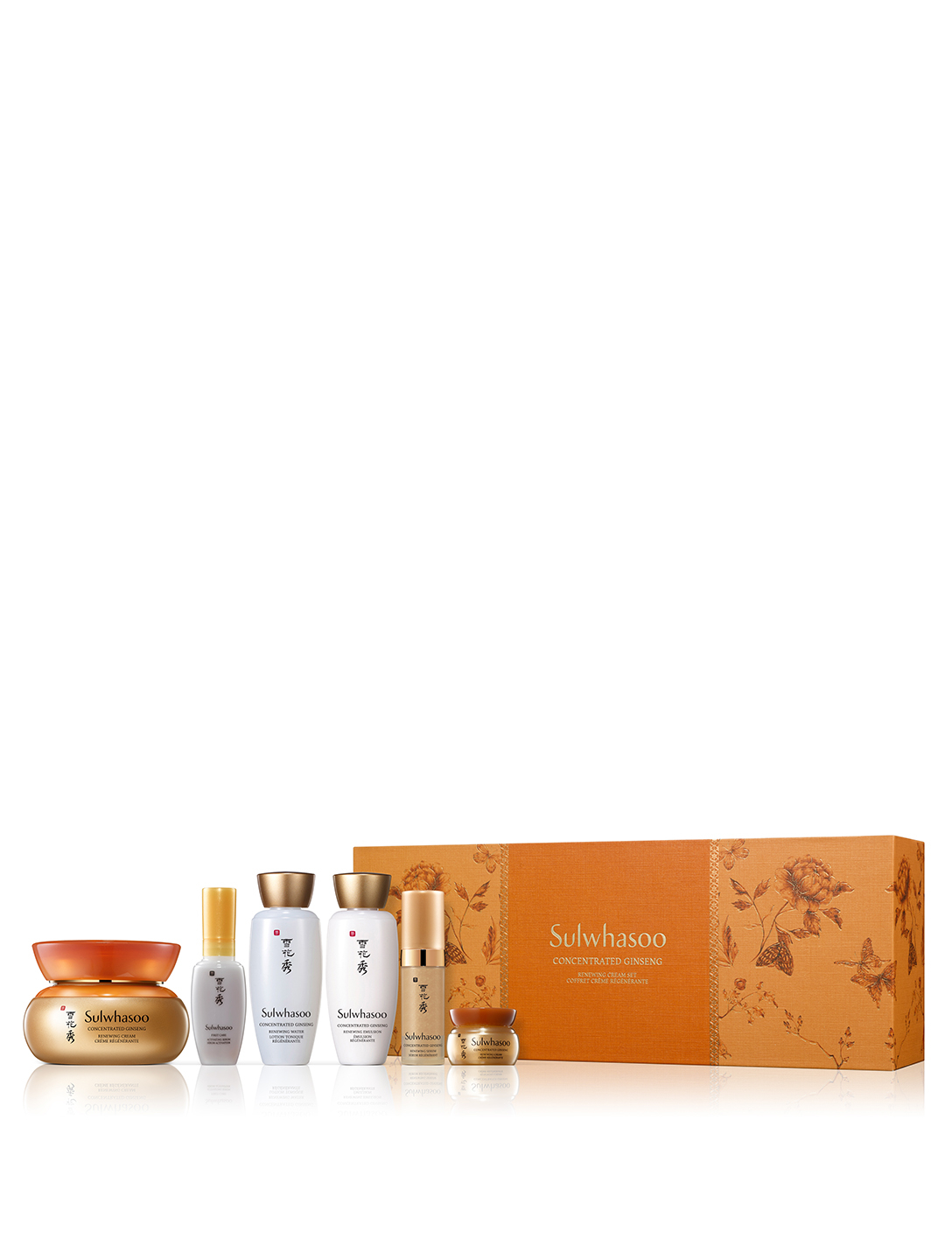 SULWHASOO Concentrated Ginseng Renewing Cream Set Beauty