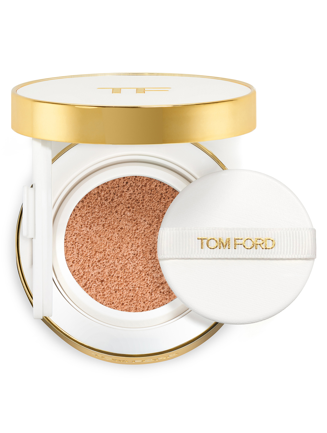 TOM FORD Fond de teint éclat bonne mine cushion compact hydratant FPS 45 Beauté Écru